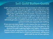 Sell Gold Bullon Guide