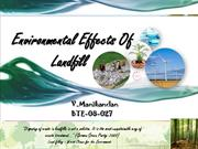 Environmental Effects Of Landfill