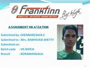 ASSIGNMENT ON AVIATION