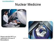 Medical Imaging Techniques in nuclear medicine for Biomedical Engineer