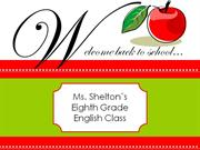 classroom management powerpoint by amanda shelton