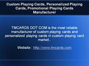 Playing Cards Manufacturer