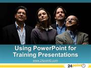 How to use PowerPoint effectively for Training Presentations
