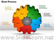 Company Gear Process PPT Background