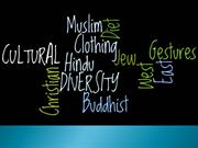Chapter 4 - Cultural Diversity - Adapting to Others- rev