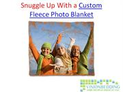 Snuggle Up With a Custom Fleece Photo Blanket