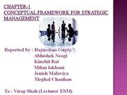 Chapter-1 Conceptual framework for Strategic Management (2)