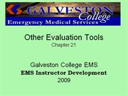 Other Evaluation Tools_Ch21