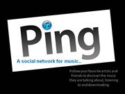 Ping Apple - The social network from Apple