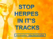 stop herpes in it's tracks