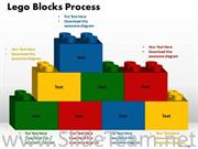Text Lego Blocks PPT Theme