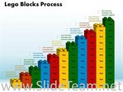 Lego Blocks Process Growth PPT Theme