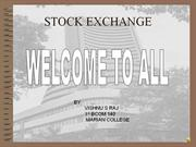 powerpoint presentation on stock market of india