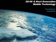 Presentation-About-3G-4G-Next-Generation-Mobile-Technology