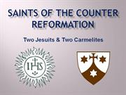catholic saints of the counter reformation