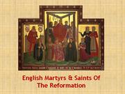 english saints and martyrs of the reformation