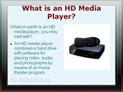 what is an hd media player?