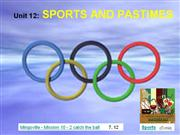 English 6 - Unit 12 - Sports and Pastimes