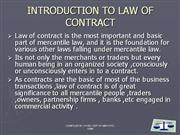 BUSINESS LAW AND REGULATIONS PPT FORJNTUH MBA