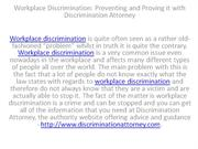 Workplace Discrimination Preventing and Proving it with Discrimination