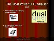 Fund Raising Without Limits DUAL PPT