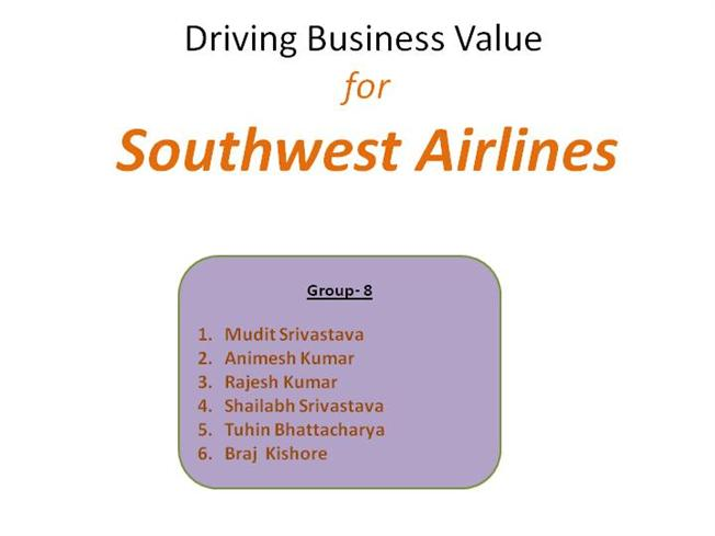 southwest airlines bcg matrix