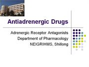 adrenergic drugs