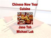 Chinese New Year Cuisine