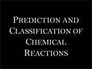 PREDICTION AND CLASSIFICATION OF CH E