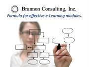 Overview for eLearning course construction