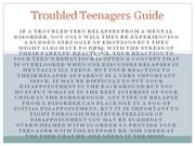 Troubled Teenagers Guide