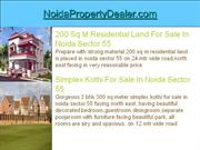 simplex kothi for rent in noida sector 55