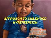 hypertension in children