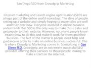 San Diego SEO from Crowdgrip Marketing