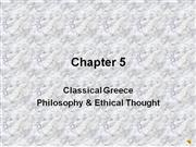 greek philosophy lecture