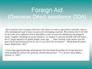 foreign aid 27may