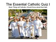 basic catholic quiz