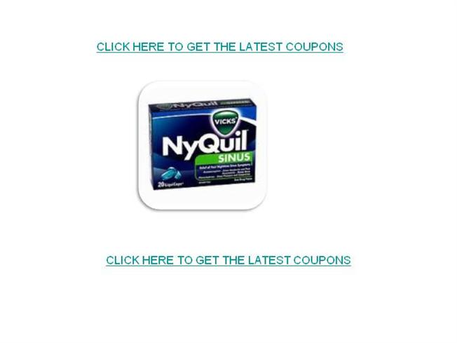 photo regarding Nyquil Coupons Printable referred to as Nyquil Coupon codes-Cost-free Printable Nyquil Discount codes authorSTREAM