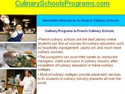 How to Find Licensed French Cooking Art Schools in France