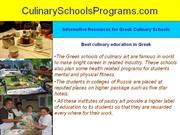 Get Certified Diploma Programs In Greek Culinary Centers