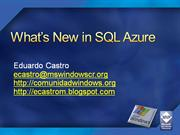 what is new in sql azure