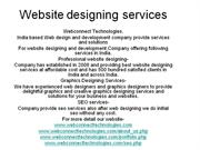 Website designing services india