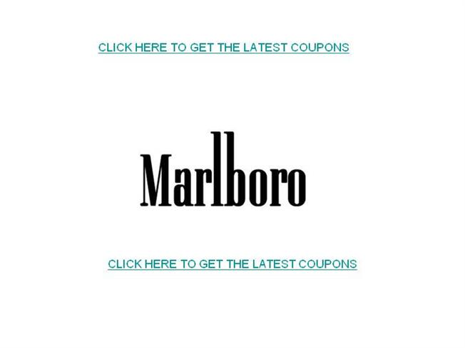 picture relating to Printable Cigarette Coupons named Marlboro Discount codes-No cost Printable Marlboro Coupon codes authorSTREAM