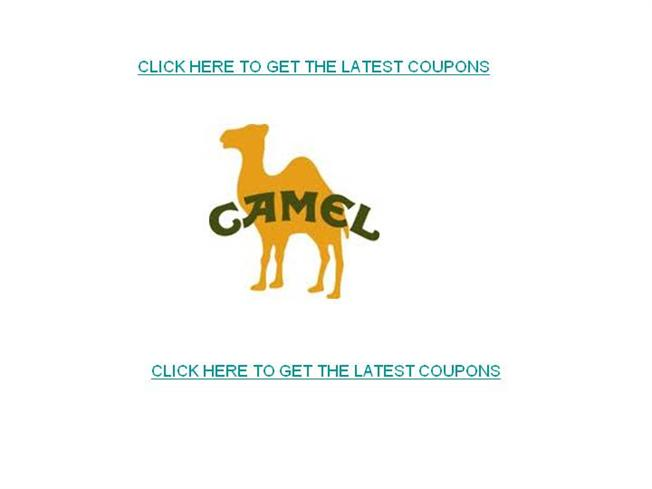 graphic relating to Camel Coupons Printable titled Camel Coupon codes-Cost-free Printable Camel Discount coupons authorSTREAM