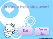 Are you a Hello Kitty Lover