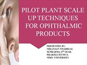 OPHTHALMICS PRODUCTS