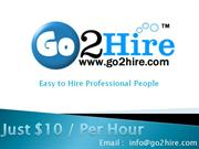 go2hire.com Hire Developer just $10