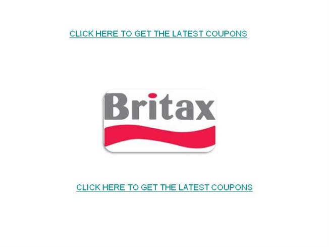 picture relating to Pall Mall Printable Coupons referred to as Britax Discount codes-Free of charge Printable Britax Discount coupons authorSTREAM