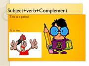 learn basic sentence structures of english