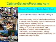 Get Certification in Hospitality Art from Italian Culinary Centers